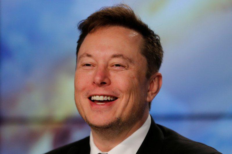 美國電動車大廠特斯拉和SpaceX執行長馬斯克。(路透)
