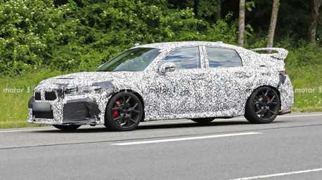 第11代Honda Civic Type-R來了!首度偽裝現身