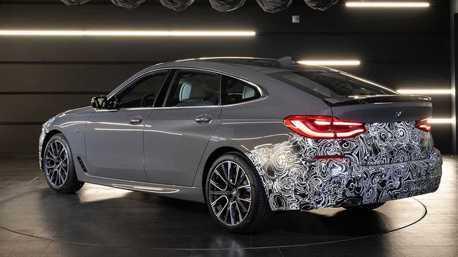 小改款BMW 6 Series GT最後偽裝曝光 將與5 Series一同發表