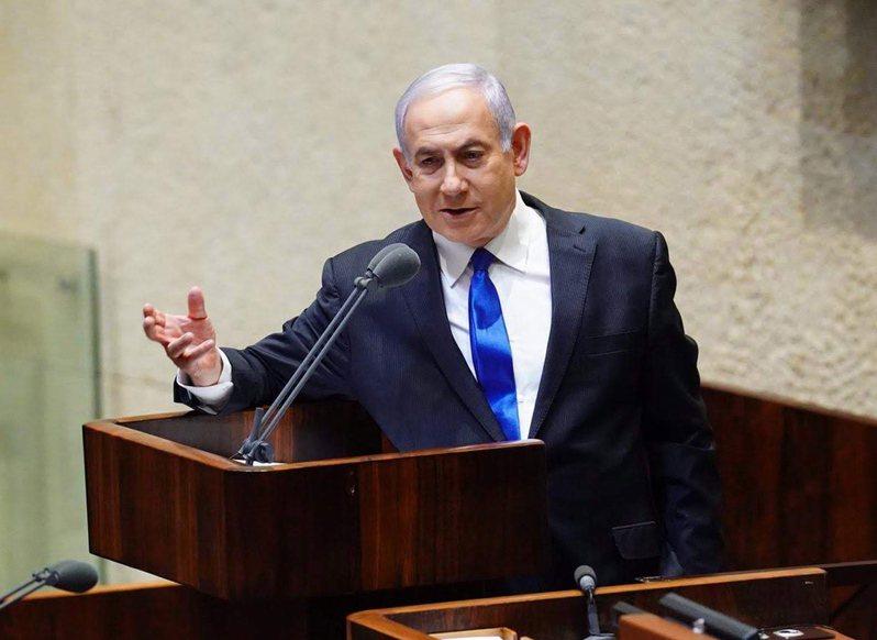 以色列總理內唐亞胡(Benjamin Netanyahu)深陷貪腐案。圖/歐新社