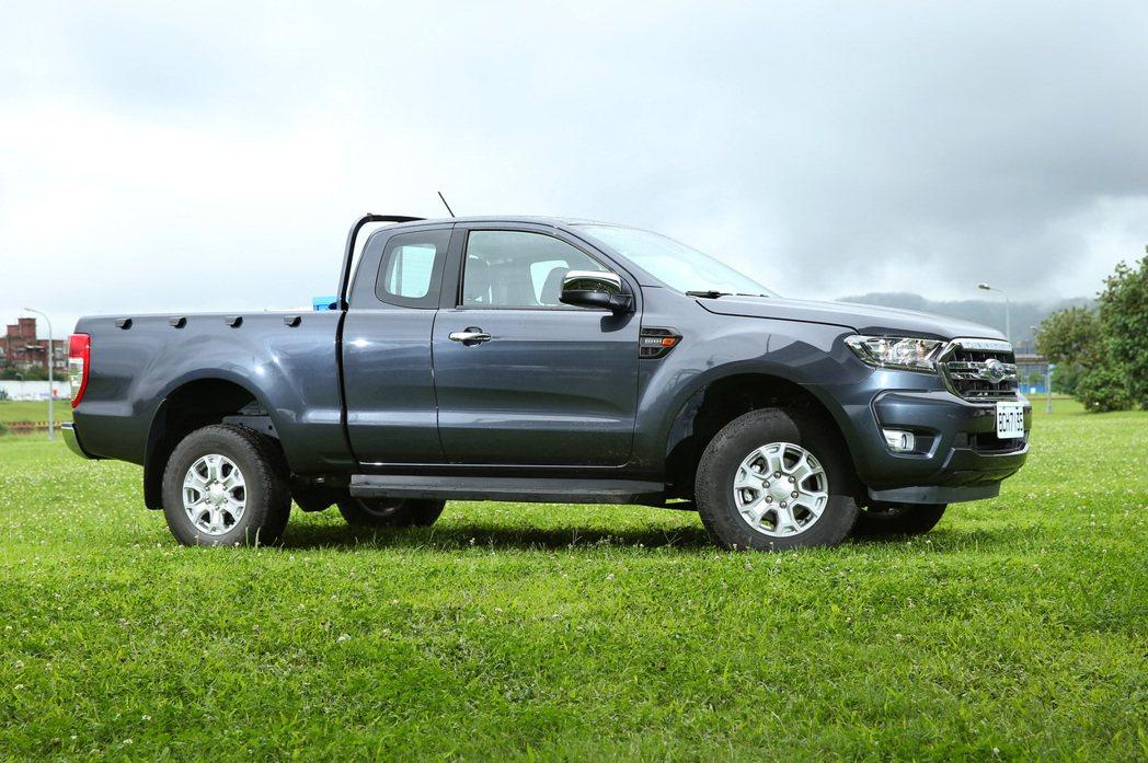 Ford Ranger職人型兼具帥氣外型和強悍動力輸出。 記者林澔一/攝影