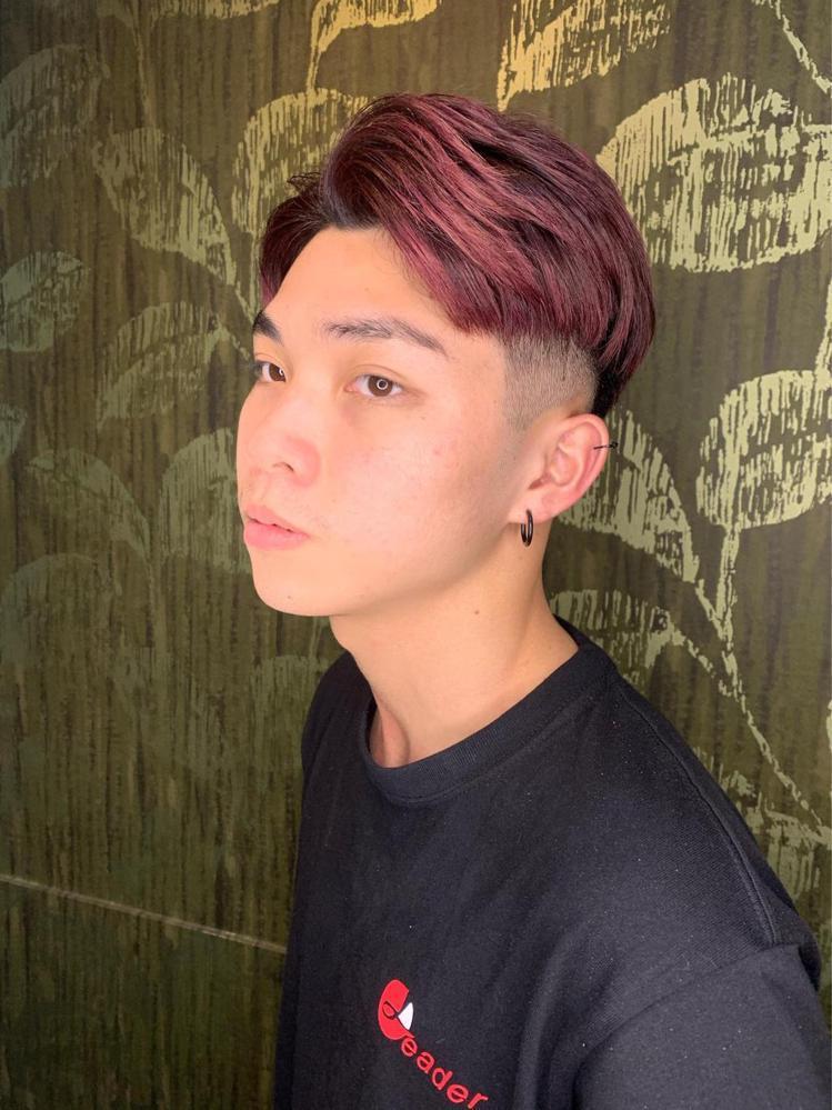 髮型創作/麗的國際髮型-彰一店 / Carl,圖/StyleMap美配提供
