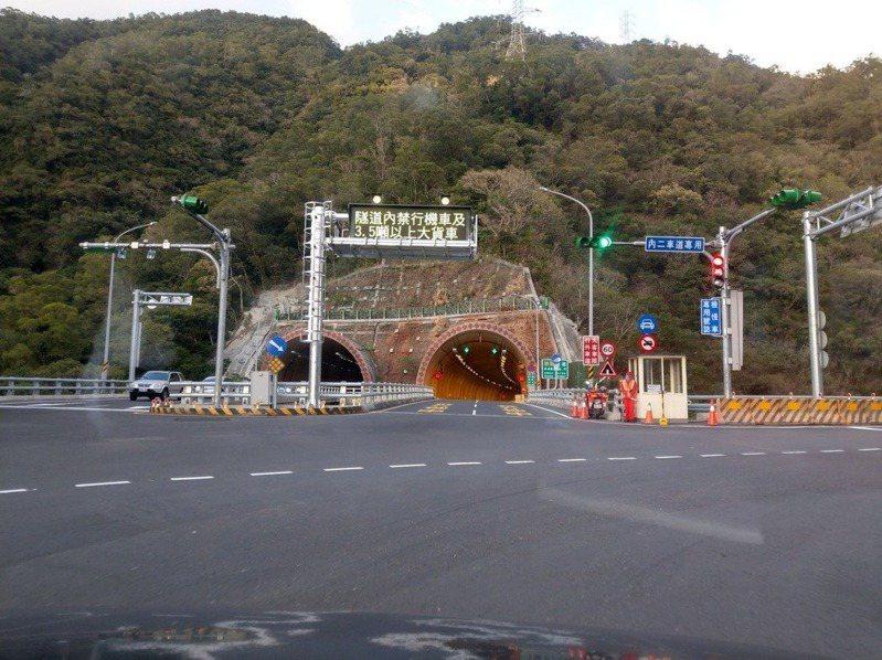 省道台9線南迴改4.9公里的草埔森永隧道將於6月起試開放大型重機通行6個月。本報資料照片