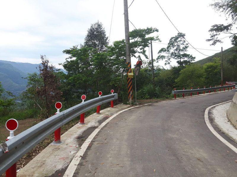六曲窩至水田部落道路改善工程已獲經費核定。圖/新竹縣政府提供