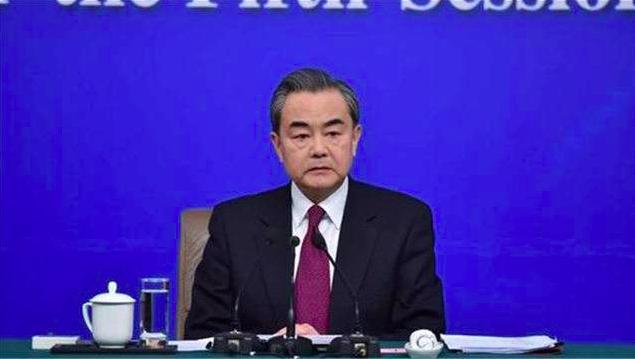 中共國務委員兼外長王毅。(央視截圖)