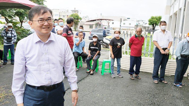 立委劉櫂豪獲得過半數512張黨員票當選台東縣黨部第17屆主委。記者羅紹平/攝影
