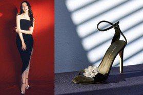 為迪麗熱巴美腿添貴氣 夏天就來試試看鑽飾涼鞋吧!