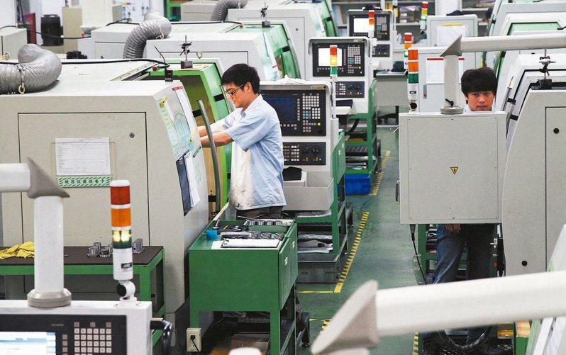 摩根大通調查,台灣工具機廠大陸訂單已恢復到疫情爆發前夕,5G拉貨力道將邁向高峰。(本報系資料庫)