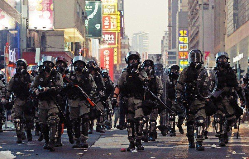 香港去年爆發反送中運動。圖/取自美聯社
