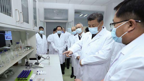 新冠肺炎爆發,啟動了美國和中國大陸的疫苗研發競賽。(本報系資料庫)