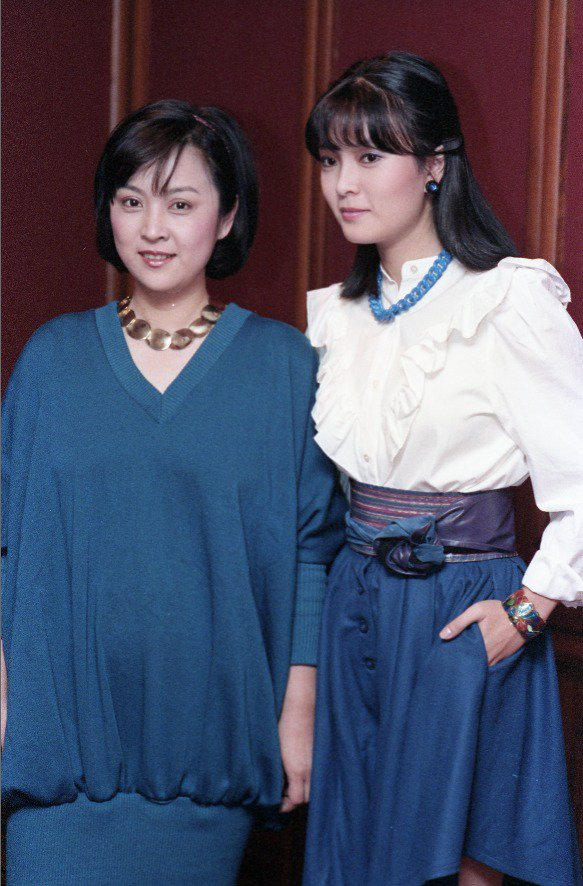 甄珍與銀霞曾是演藝圈最閃亮的明星姊妹花。圖/報系資料照片