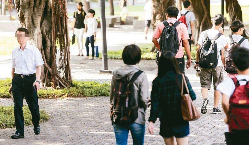 107學年大專校院有6.2%學生休學,又以博士班休學率21.9%為最高。 圖╱聯合報系資料照片