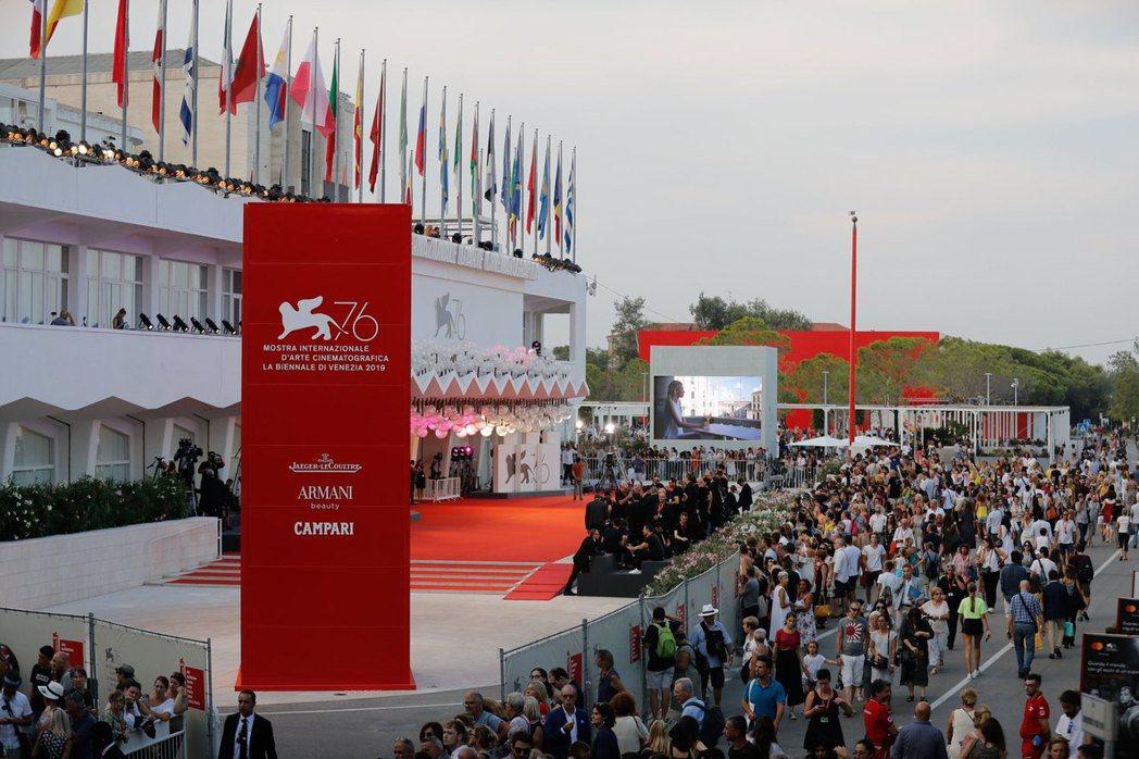 第77屆威尼斯影展決定9月如期舉行。(圖為第76屆威尼斯影展) 圖/擷自威尼斯影