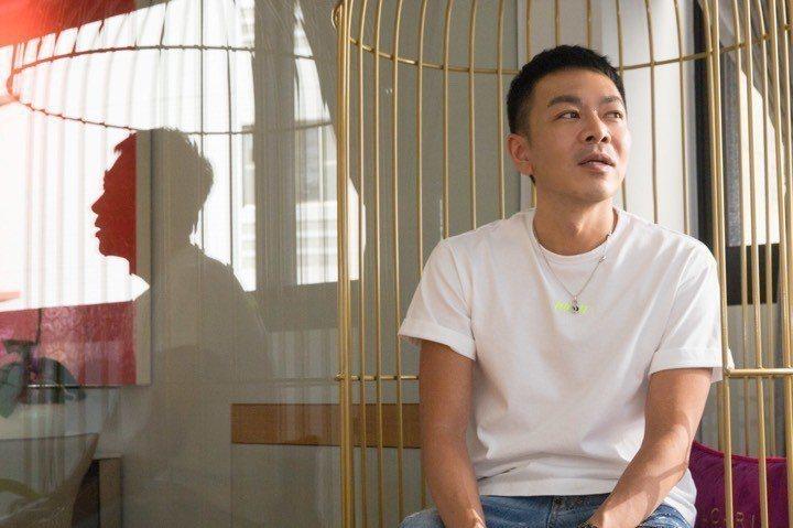 蔣承縉相信「愛最大」。 記者陳立凱/攝影