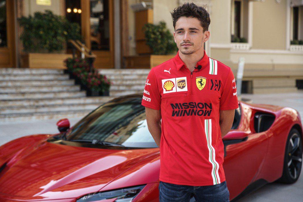 法拉利新生代車手Charles Leclerc。 摘自Ferrari