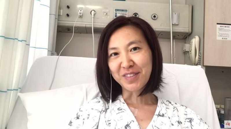 陳恩的頻道上目前已有62支影片,為她樂觀抗癌的過程紀錄。圖/YouTube