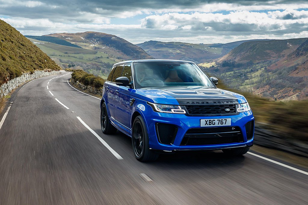 Land Rover Range Rover Sport SVR推出5年以來一直...