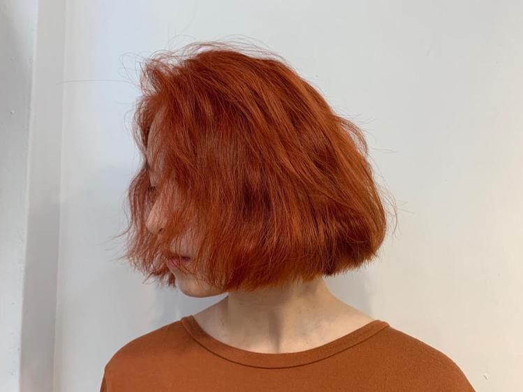 髮型創作/禧歡 / ann,圖/StyleMap美配提供