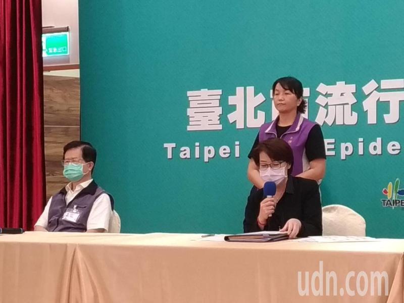 台北市副市長黃珊珊(右)說,拚觀光應是全國民眾一起來,不僅只有陳時中部長,中南部朋友也可以多多到台北來走一走。記者林麗玉/攝影