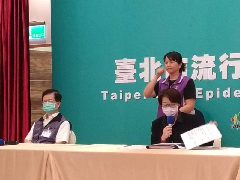 台北市副市長黃珊珊(右)今天表示,今年北市府龍舟錦標賽,決賽有電視台直播,但不開放民眾現場觀賽。記者林麗玉/攝影
