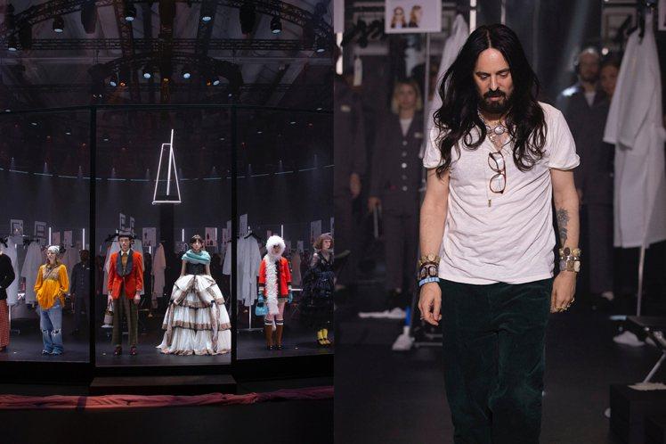 GUCCI宣布今後一年只發表兩次時裝系列。圖/GUCCI提供