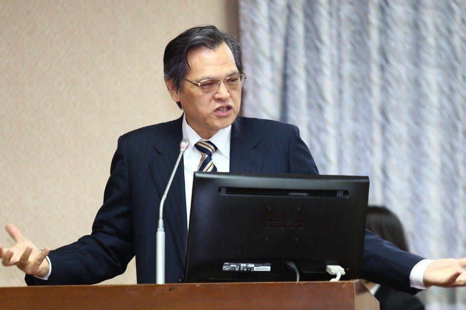 陸委會主委陳明通。圖/聯合報系資料照片