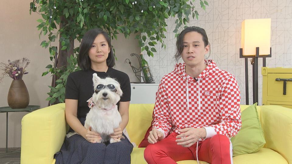 徐乃麟女兒Sabrina徐廷瑀(左)和哥哥徐新洋首度同框。圖/媒體棧提供