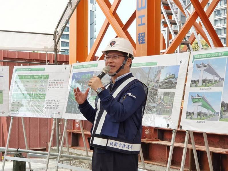 交通部長林佳龍表示,交通部全力支持桃園的交通建設,會加速推動,讓桃園成為年輕人築夢、圓夢的好地方。記者陳夢茹/攝影