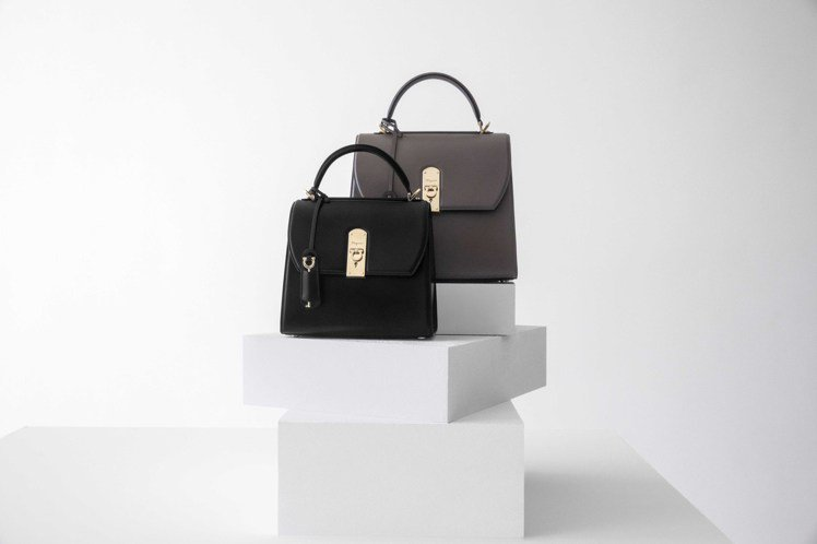BOXYZ包款共有三種尺寸和多種顏色、材質可選。圖/Salvatore Ferr...