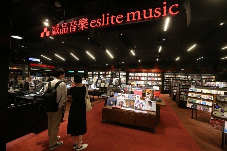 誠品音樂館也隨著誠品信義24小時書店同步不打烊。記者胡經周/攝影