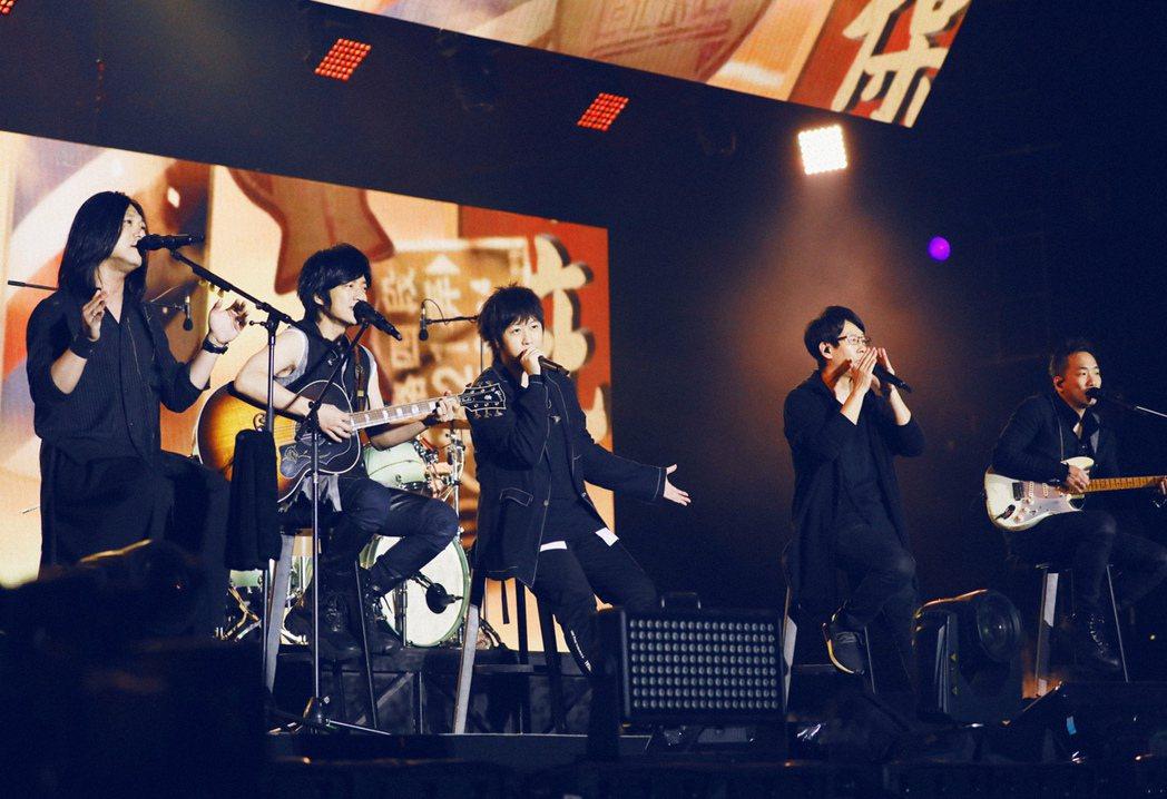 五月天宣布在5月31日舉辦線上演唱會。圖/相信音樂提供