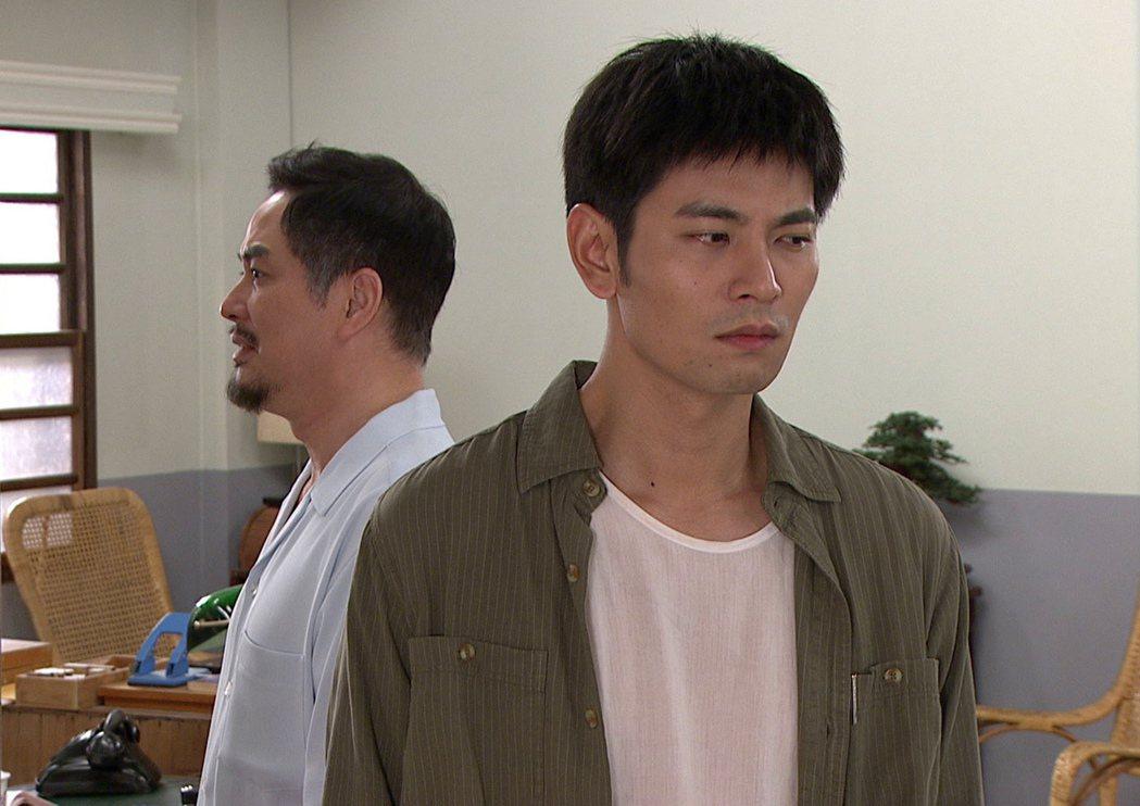 楊子儀(前)與林健寰在「生生世世」中飾演兄弟。圖/台視提供