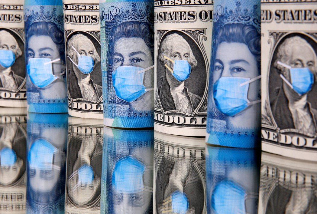 全球富裕國家公共債務增,稅收大幅減少,勢必將減弱刺激措施效果。 (路透)