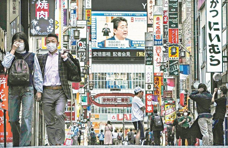 日本未來可能鬆綁入境管制。 歐新社