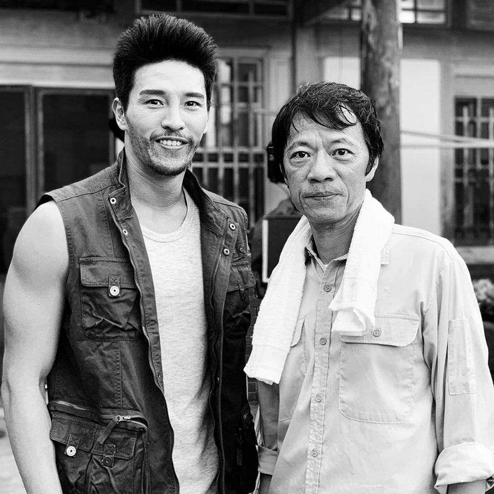 陳禕倫與吳朋奉合照。 圖/摘自臉書