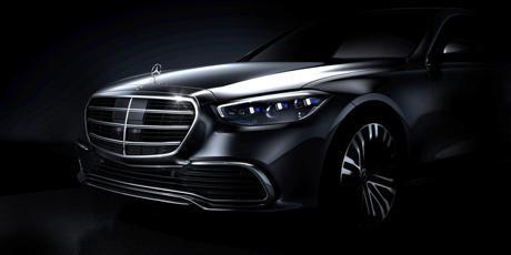 大改款Mercedes-Benz S-Class官方車頭照曝光 走向科技尖端的豪華旗艦