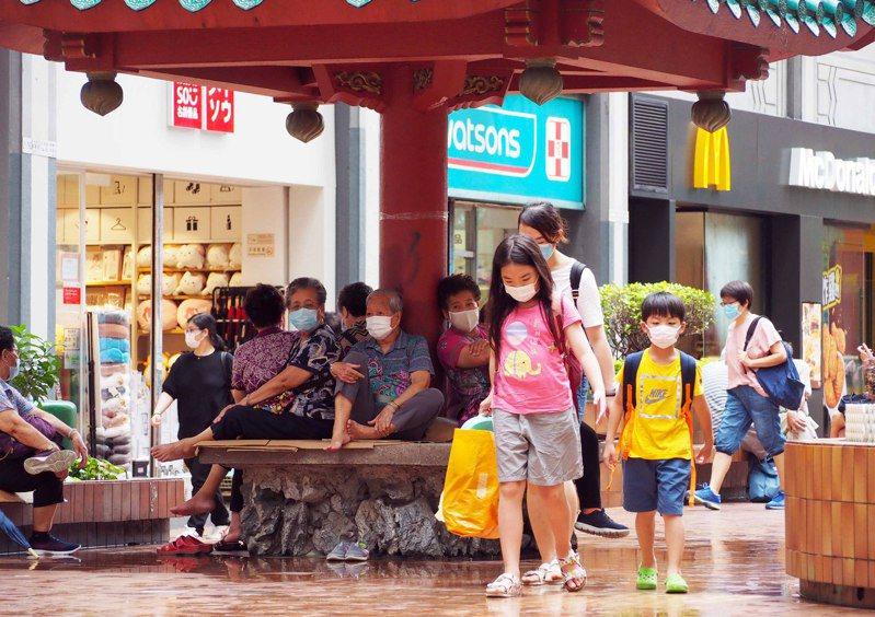 港大研究:港至少五至七個超級傳疫者 香港中國通訊社