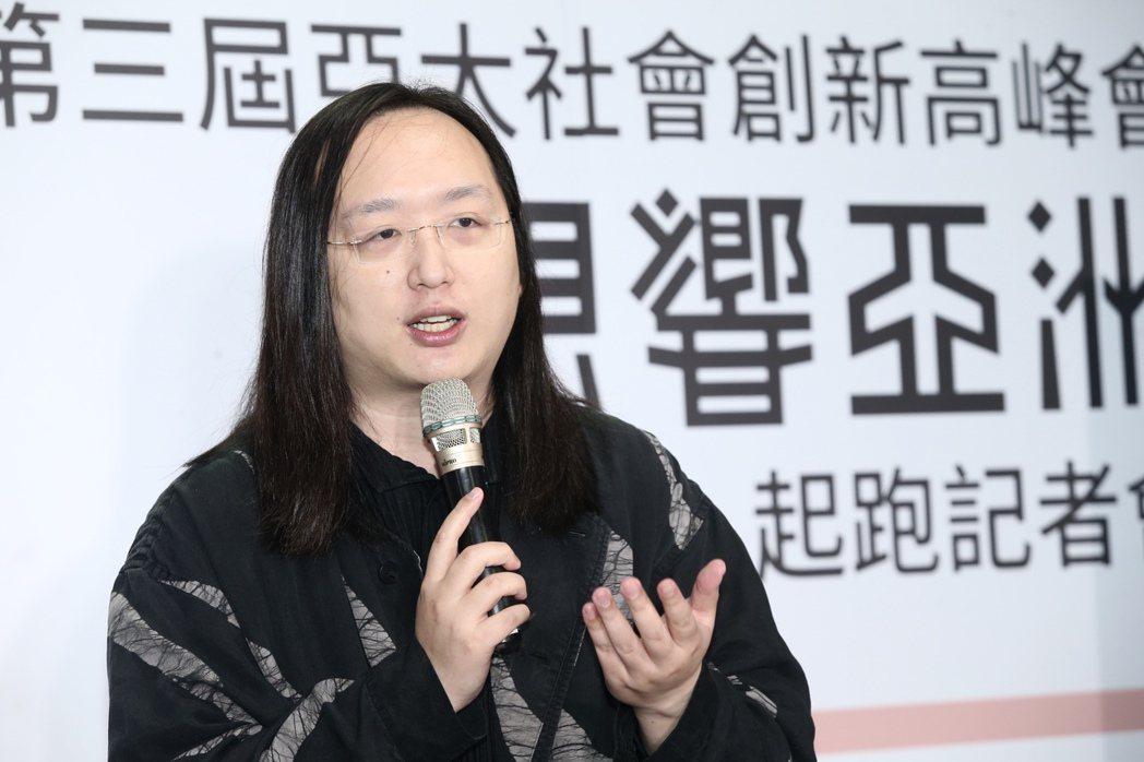 唐鳳。 圖/聯合報系資料照