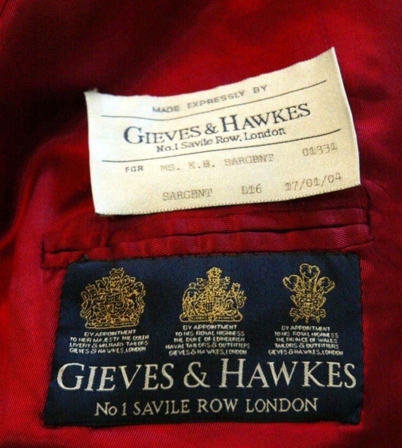 擁有三張英國王室委任證的英國老牌Gieves & Hawkes,除擁有Savil...