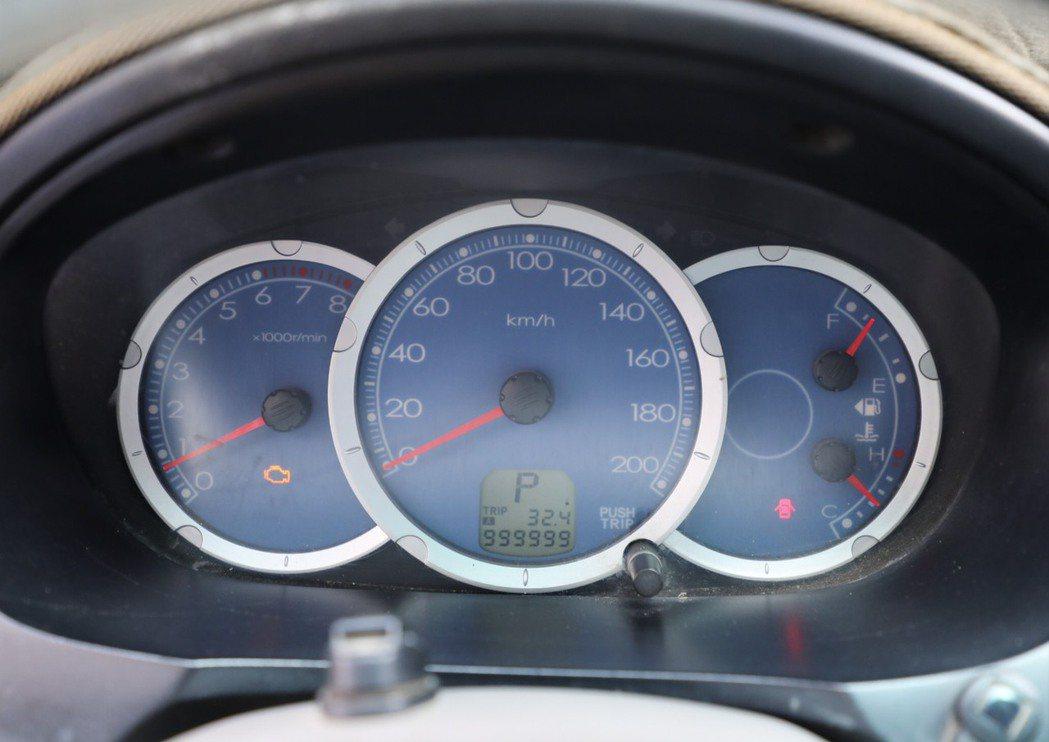 Zinger里程表停留在999999公里輝煌紀錄 車主期望再創第二個百萬公里。 ...