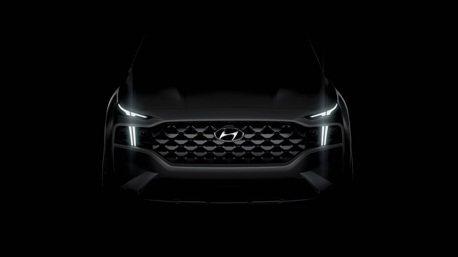 小改款Hyundai Santa Fe預告六月登場 除了變臉還改搭新平台!