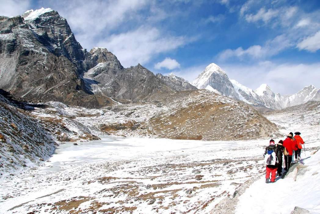登山熱潮下如何兼具觀光發展與環境保育,考驗尼泊爾政府智慧。 圖/聯合報系資料照