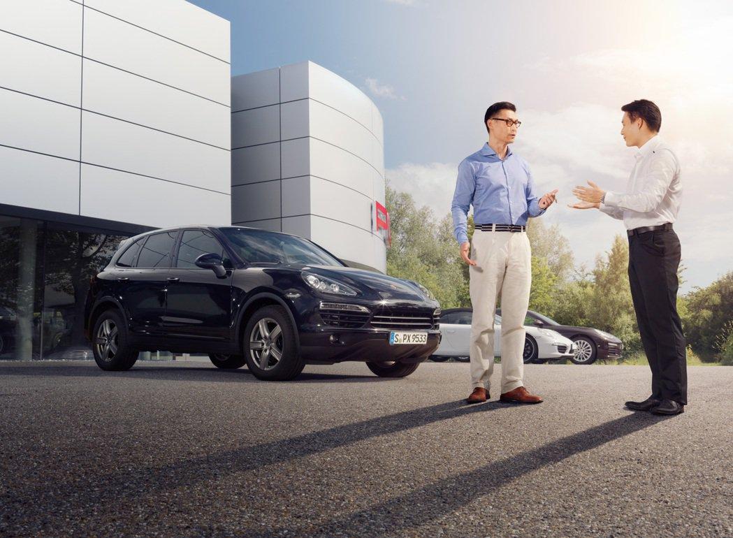 台灣保時捷以「Porsche Approved保時捷認證」提供消費者入主夢想車款...