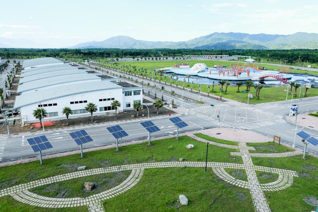 鳳林鎮環保科技園區。 圖/聯合報系資料照