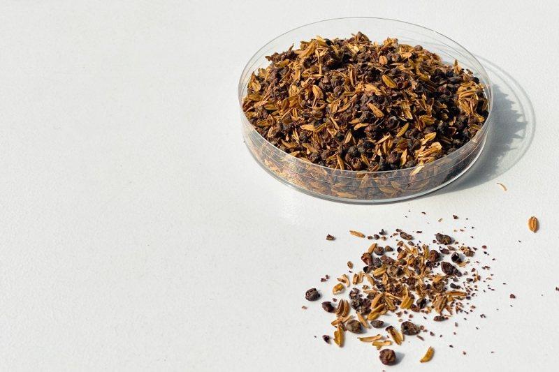 高粱酒的副產品「酒糟」屬於廢棄物,但業者歐萊德結合產、研能量,轉化為專利護手成份...