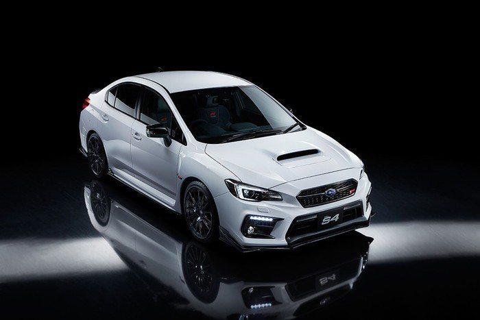 Subaru WRX S4 STI Sports#。 摘自Subaru