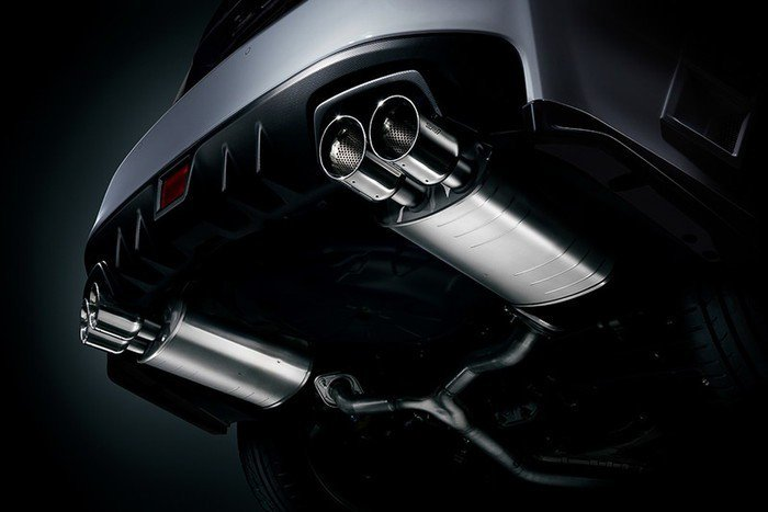 STI Sports#換裝WRX STI排氣尾管。 摘自Subaru