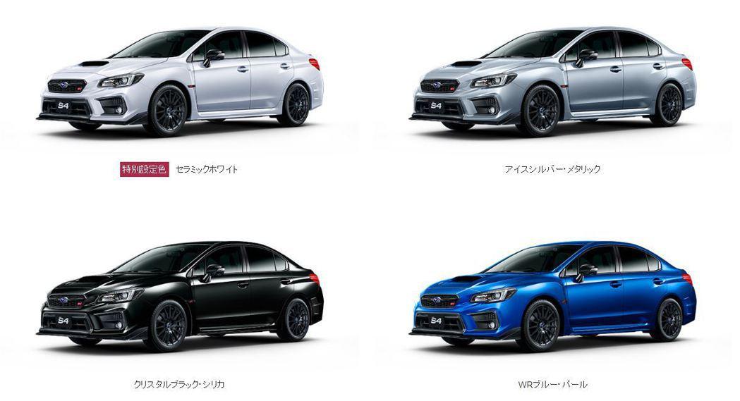 STI Sports#推出了4種車色,有陶瓷白、金屬銀、水晶黑、WR珍珠藍。 摘...