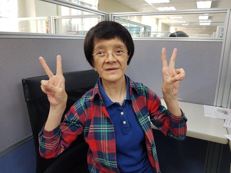 60歲林慧珠是從台北榮民總醫院退休的護理師,出身就患有罕見疾病「鎖骨顱骨發育異常...