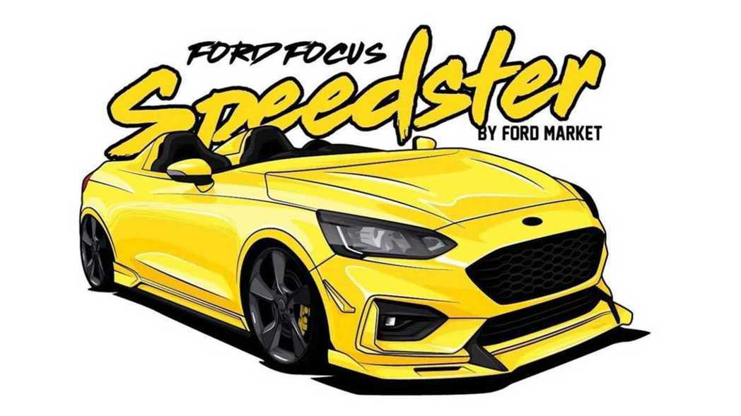 Ford Focus Speedster。 摘自ford_market